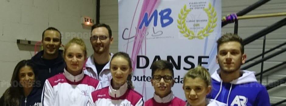 Les danseurs du MB studio des champions ambitieux