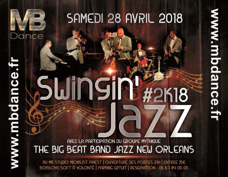 Danse & Wellness Swingin'Jazz- 28 Avril 2018 – 21h