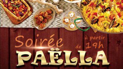 Soirée Paëlla – 6 juillet 2018 dès 19 heures