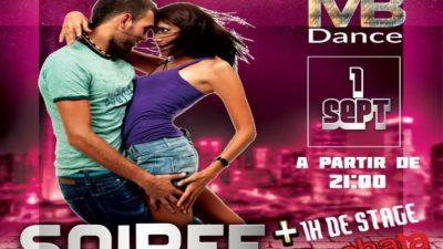 SOIRÉE TOUTES DANSES  + Stage BACHATA