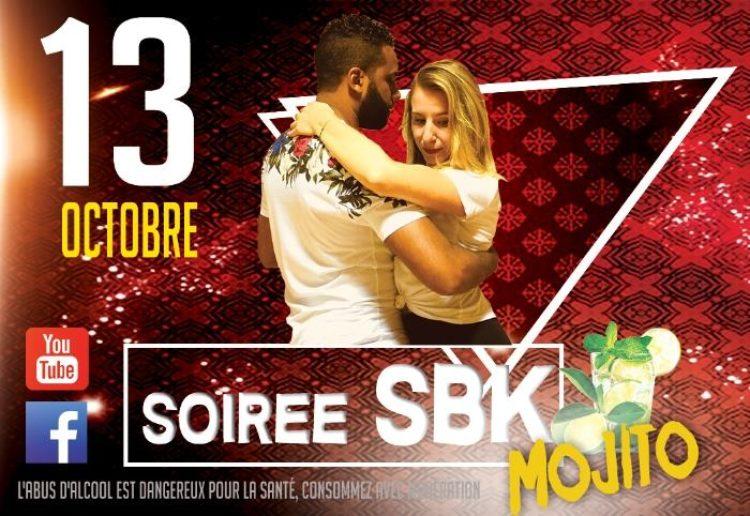 13 Oct. – Soirée SBK Latino – Stages 2H Kizomba