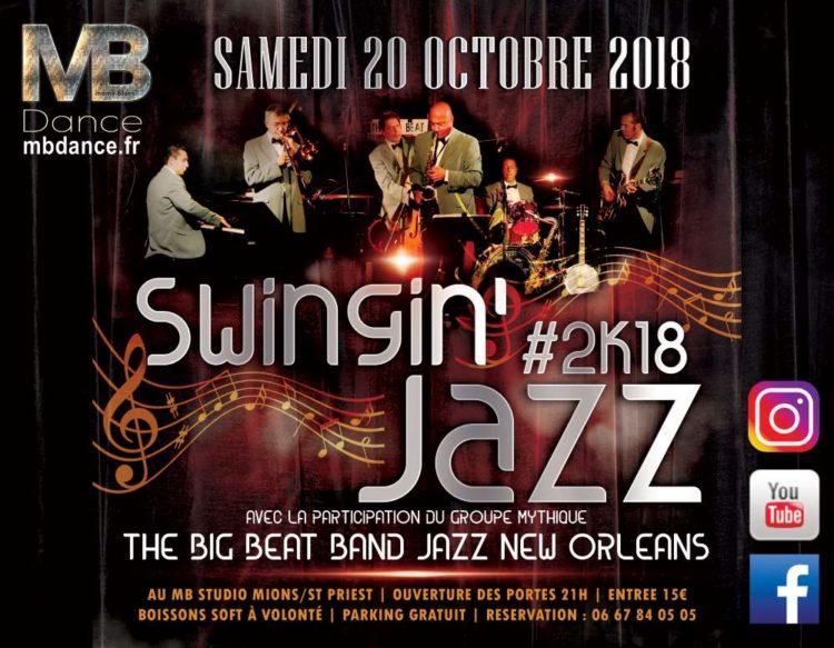Danse & Wellness Swingin'Jazz- 20 Octobre 2018 – 21h