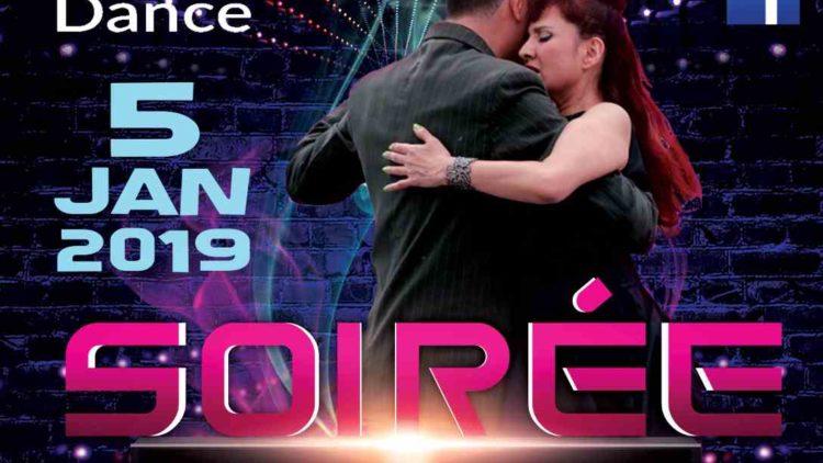 5 Jan. 2019 – Soirée Dansante – 3H Stages Danse de Salon