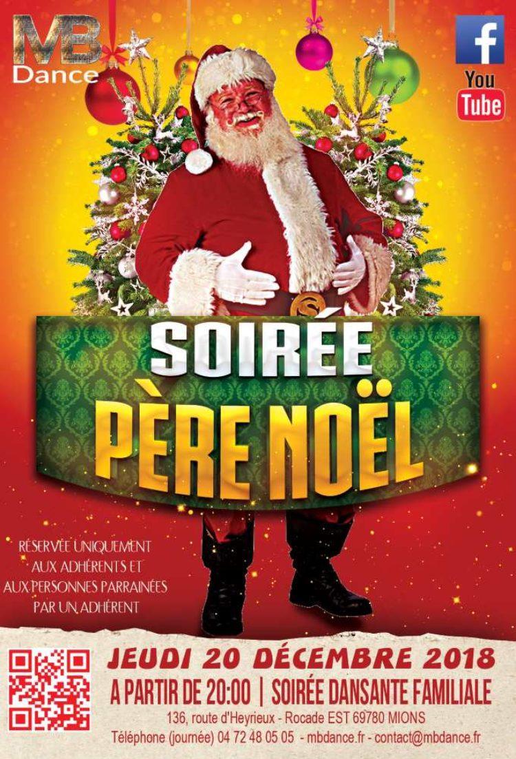 Soirée Père Noël 2018 – Jeudi 20 Décembre