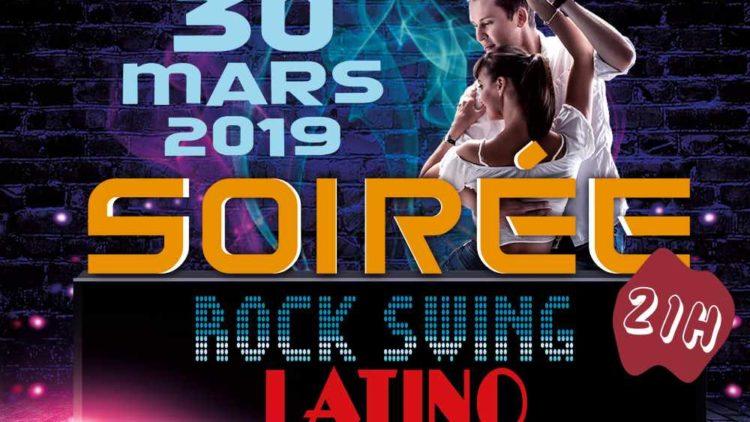 30 MAR. – 21h Soirée Rock Swing Latino – 20h Stage 1H