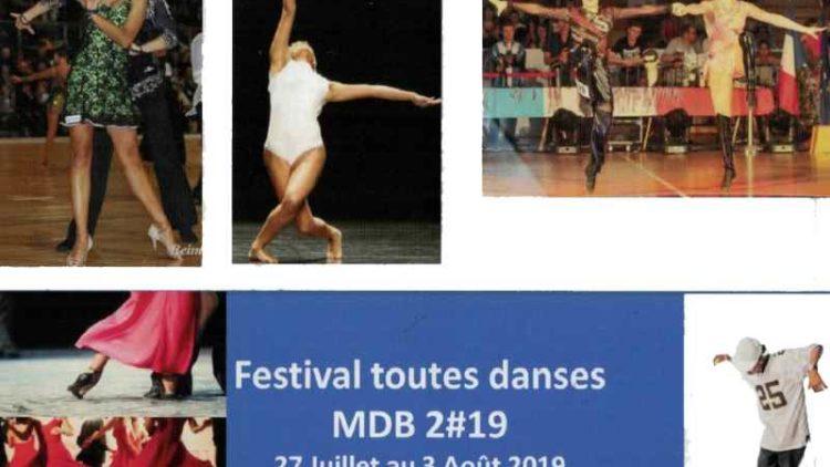 Festival toutes danses MDB 2019 – 27 Juillet au 3 Août 2019