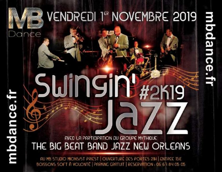 Danse & Wellness Swingin'Jazz- 1 Novembre 2019 – 21h