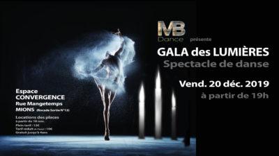 GALA des LUMIÈRES – Ven. 20 Déc 2019 | ESPACE CONVERGENCE