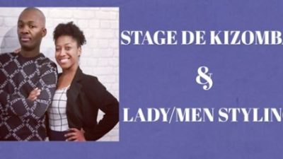 Dim. 26 Jan. 2020 – 13-17h Stage  Kizomba  Lady/Men Styling
