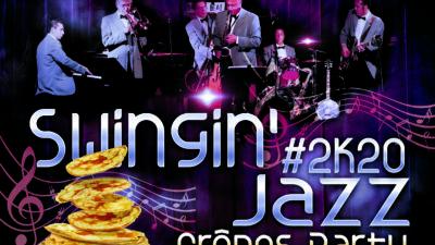 Danse & Wellness Swingin'Jazz Crêpes Party – 28 Février 2020 – 21h