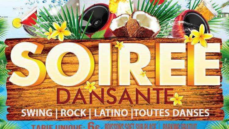 21 mars 2020 – 21h Soirée Dansante – Swing – ROCK – LATINO – Toutes Danses
