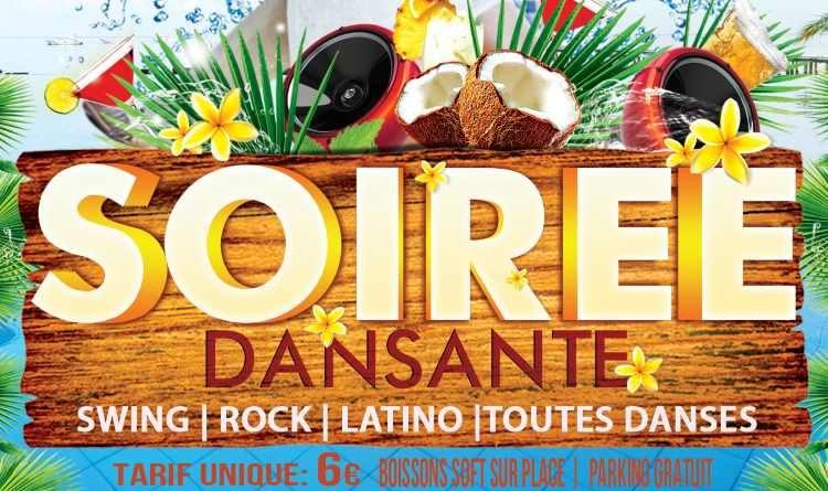 ANNULATION – 21 mars 2020 – 21h Soirée Dansante – Swing – ROCK – LATINO – Toutes Danses