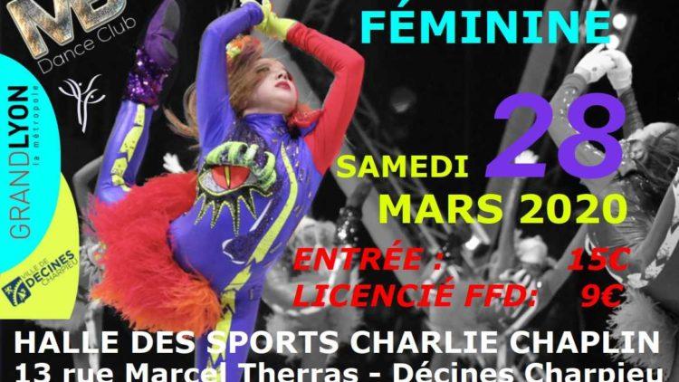Samedi 28 Mars 2020 – Sélection Nationale Féminine