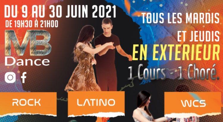"""Soirées """"Remise en Danse"""" de 19:30 à 21:00 dès le 9 juin 2021"""